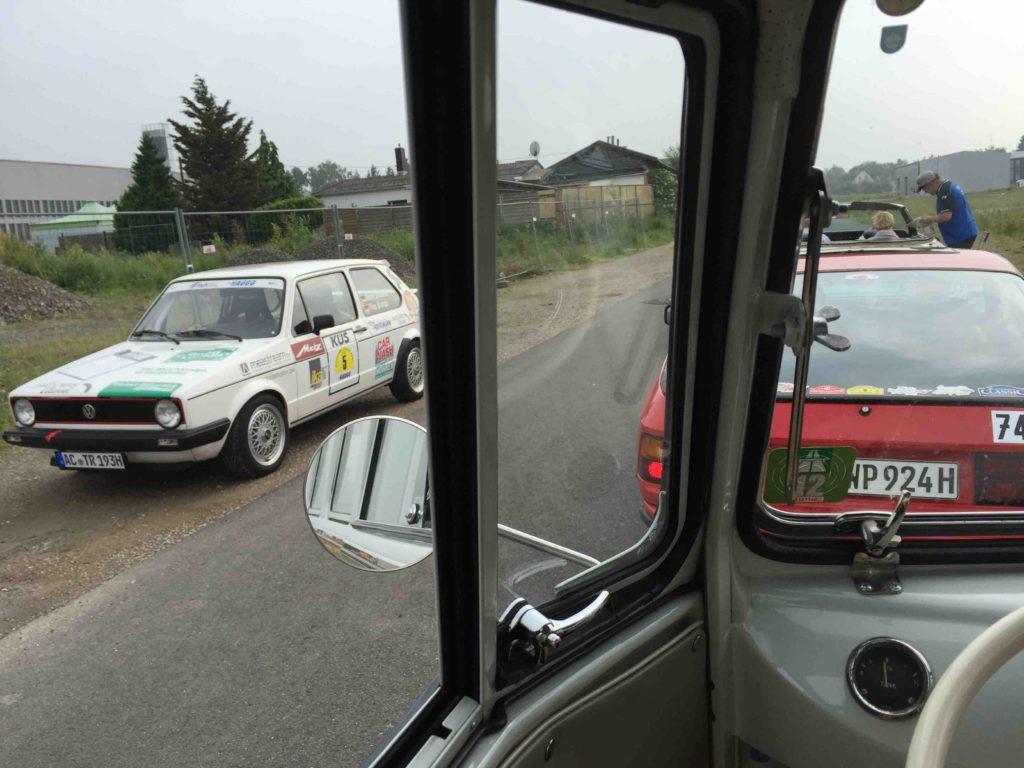 Der Rallye-Golf von René und Tina